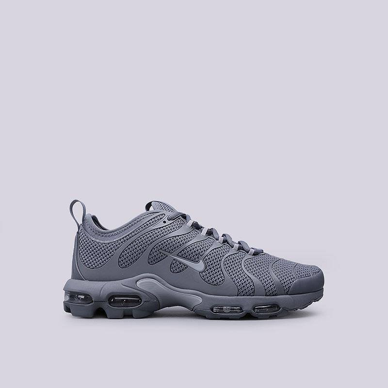 Кроссовки Nike Air Max Plus TN UltraКроссовки lifestyle<br>Текстиль, резина, пластик<br><br>Цвет: Серый<br>Размеры US: 8;8.5;9;9.5;10;10.5;11;11.5;12<br>Пол: Мужской