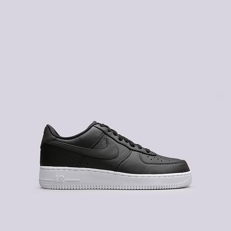 Кроссовки Nike Air Force 1 `07 PRMКроссовки lifestyle<br>Кожа, пластик, текстиль, резина<br><br>Цвет: Черный<br>Размеры US: 13<br>Пол: Мужской