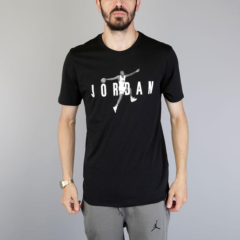 Футболка Jordan M JSW Tee Modern 2Футболки<br>Хлопок<br><br>Цвет: Черный<br>Размеры US: S;M;L;XL<br>Пол: Мужской
