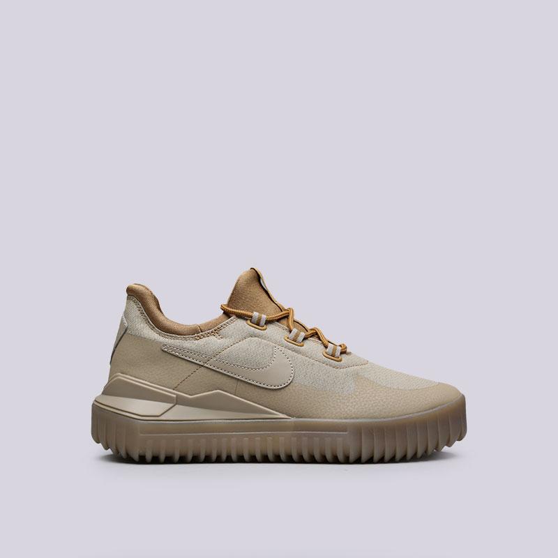 Кроссовки Nike Air WildКроссовки lifestyle<br>Синтетика, текстиль, резина<br><br>Цвет: Бежевый<br>Размеры US: 7;12.5<br>Пол: Мужской