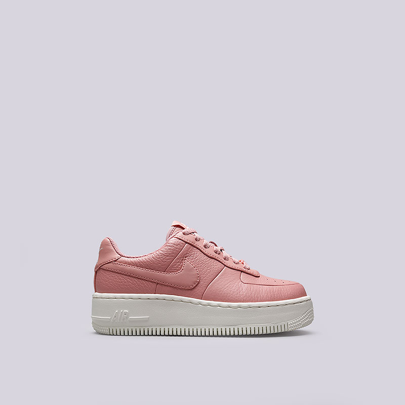 Кроссовки Nike Sportswear WMNS Air Force 1 UpstepКроссовки lifestyle<br>Кожа, текстиль, резина<br><br>Цвет: Розовый<br>Размеры US: 6<br>Пол: Женский