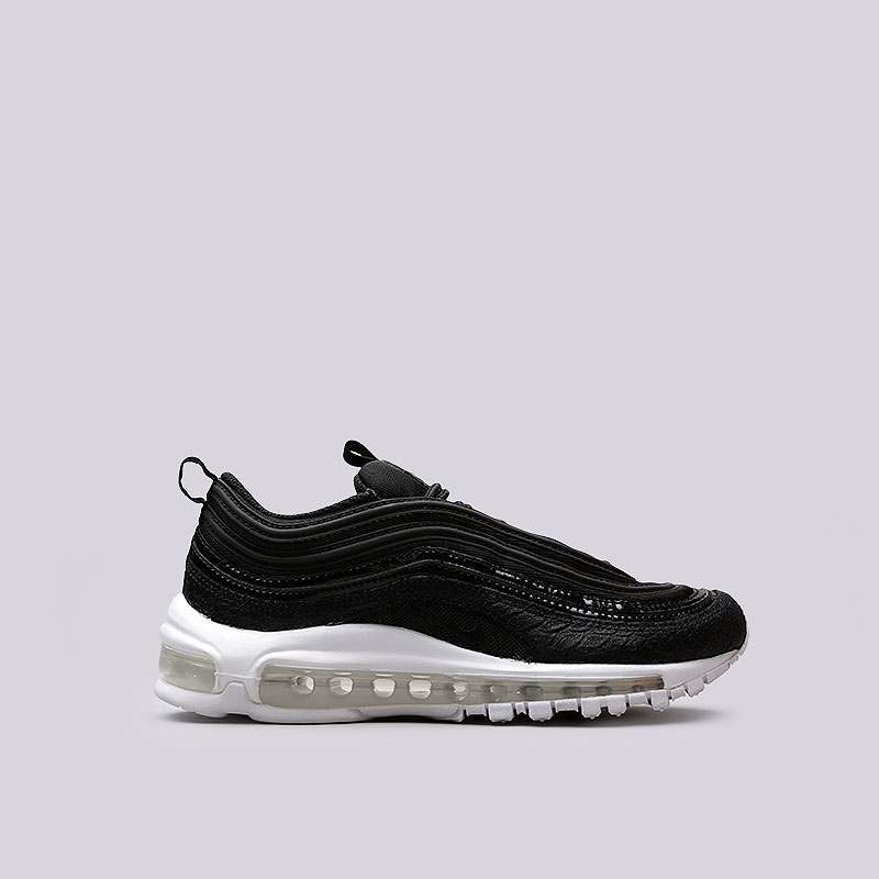 Кроссовки Nike WMNS Air Max 97 PRMКроссовки lifestyle<br>Текстиль, резина<br><br>Цвет: Черный<br>Размеры US: 6;6.5<br>Пол: Женский