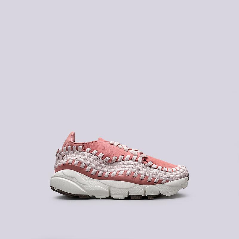 Кроссовки Nike WMNS Air Footscape WovenКроссовки lifestyle<br>Кожа, синтетика, текстиль, пластик, резина<br><br>Цвет: Розовый<br>Размеры US: 6;6.5;7;7.5;8;8.5<br>Пол: Женский