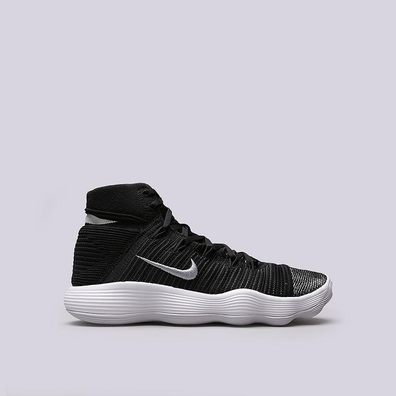 Кроссовки Nike Hyperdunk 2017 FlyknitКроссовки баскетбольные<br>Текстиль, резина<br><br>Цвет: Черный<br>Размеры US: 8<br>Пол: Мужской