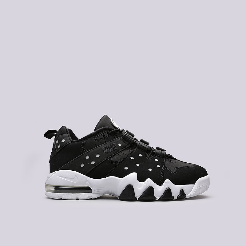 Кроссовки Nike Air Max 2 CB 94 LowКроссовки lifestyle<br>Кожа, синтетика, текстиль, резина, пластик<br><br>Цвет: Черный<br>Размеры US: 9.5<br>Пол: Мужской