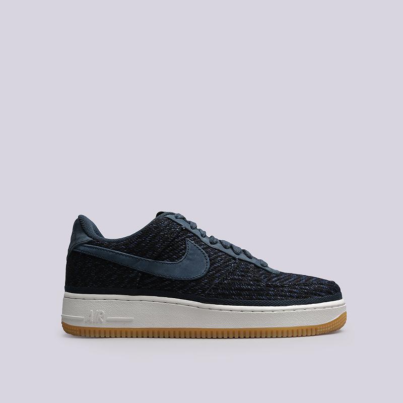 Кроссовки Nike Sportswear Air Force 1 `07 IndigoКроссовки lifestyle<br>Кожа, текстиль, резина<br><br>Цвет: Синий<br>Размеры US: 8;8.5;9;9.5;10;10.5;11;11.5;12<br>Пол: Мужской