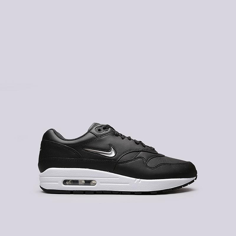 Кроссовки Nike Air Max 1 Premium SCКроссовки lifestyle<br>Кожа, текстиль, резина<br><br>Цвет: Черный<br>Размеры US: 8;10.5;11;12<br>Пол: Мужской
