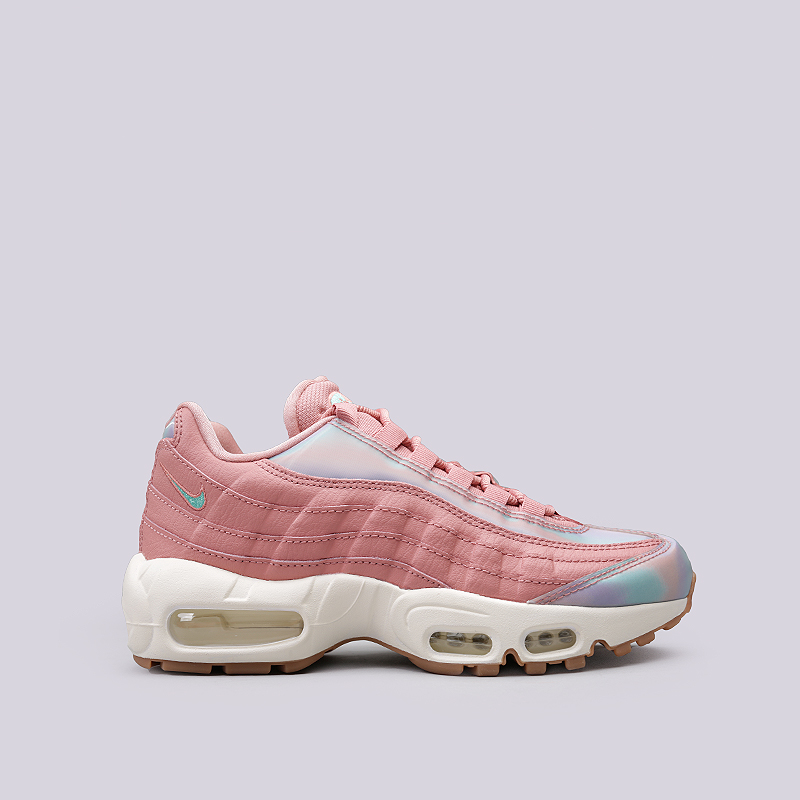 Кроссовки Nike Sportswear WMNS Air Max 95 SEКроссовки lifestyle<br>Кожа, текстиль, резина, пластик<br><br>Цвет: Розовый<br>Размеры US: 6;7.5;8.5;9<br>Пол: Женский