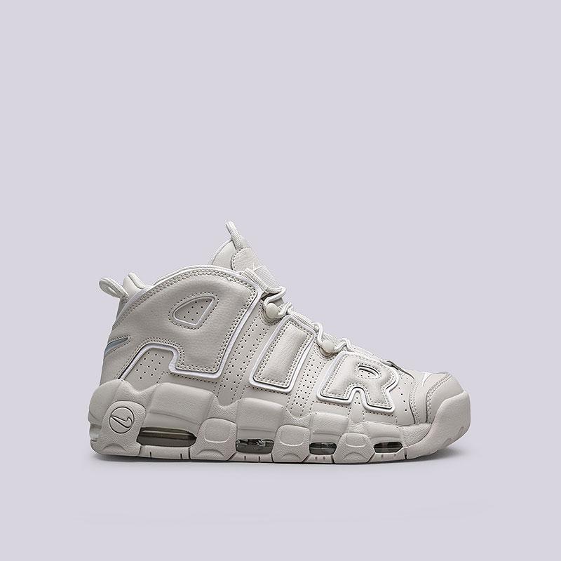 Кроссовки Nike Sportswear Air More Uptempo 96Кроссовки lifestyle<br>Кожа, синтетика, текстиль, резина<br><br>Цвет: Бежевый<br>Размеры US: 6;6.5;7;7.5;8;9;9.5;10;10.5;11;12;13<br>Пол: Мужской