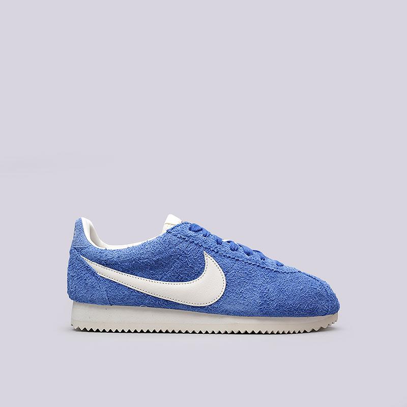 Кроссовки Nike Classic Cortez KM QSКроссовки lifestyle<br>Кожа, текстиль, резина<br><br>Цвет: Синий<br>Размеры US: 6;7;8;9;10;11