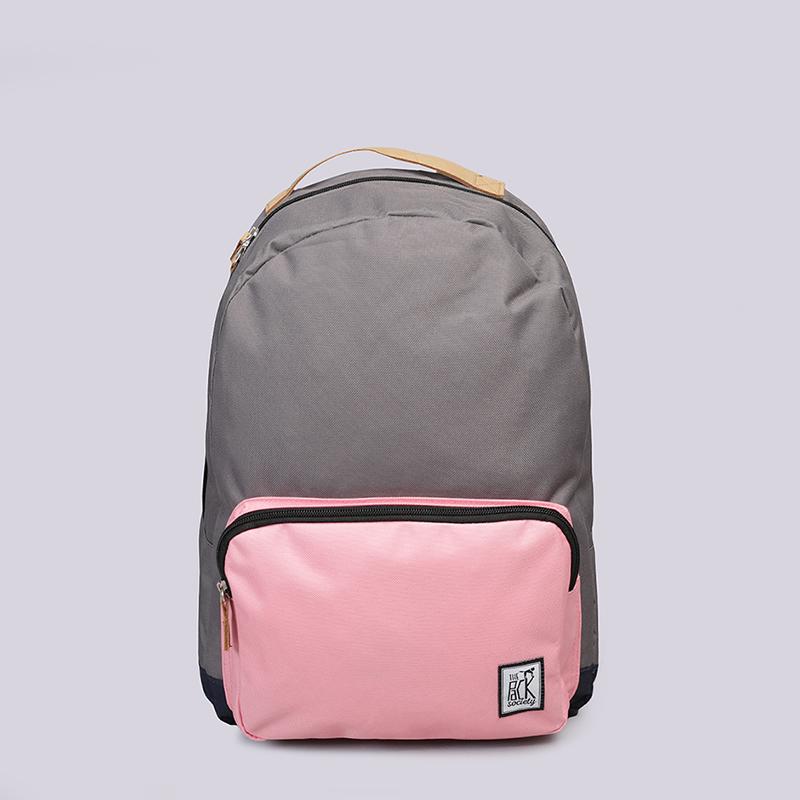 Рюкзак The Pack Society Classic 18LСумки, рюкзаки<br>Полиэстер<br><br>Цвет: Серый, розовый, синий<br>Размеры : OS