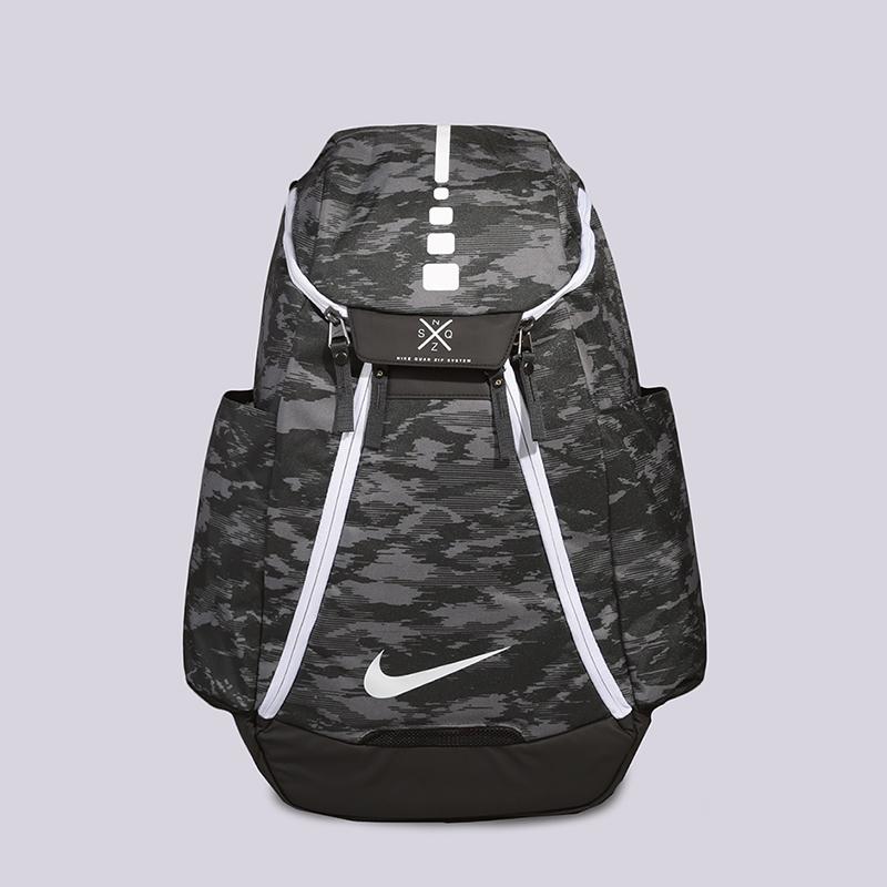 Рюкзак Nike Hoops Elite Max Air Team 2.0 Graphic Basketball Backpack 37LСумки, рюкзаки<br>Полиэстер<br><br>Цвет: Черный, серый<br>Размеры US: OS