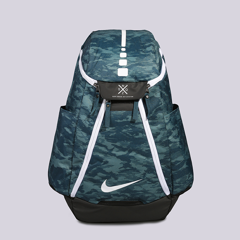 Рюкзак Nike Hoops Elite Max Air Team 2.0 Graphic Basketball Backpack 37LСумки, рюкзаки<br>Полиэстер<br><br>Цвет: Синий, черный<br>Размеры US: OS