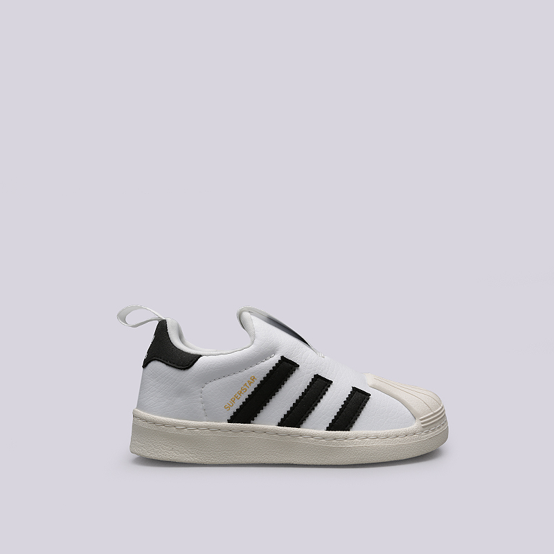 Кроссовки adidas Superstar 360 CКроссовки lifestyle<br>Искусственная кожа, резина<br><br>Цвет: Белый, черный<br>Размеры EUR: 29;35;30;32;34<br>Пол: Детский