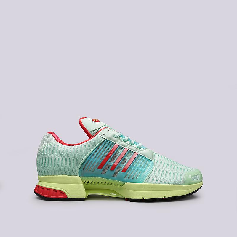 Кроссовки adidas Climacool 1Кроссовки lifestyle<br>Текстиль, резина, пластик<br><br>Цвет: Салатовый<br>Размеры UK: 10.5<br>Пол: Мужской