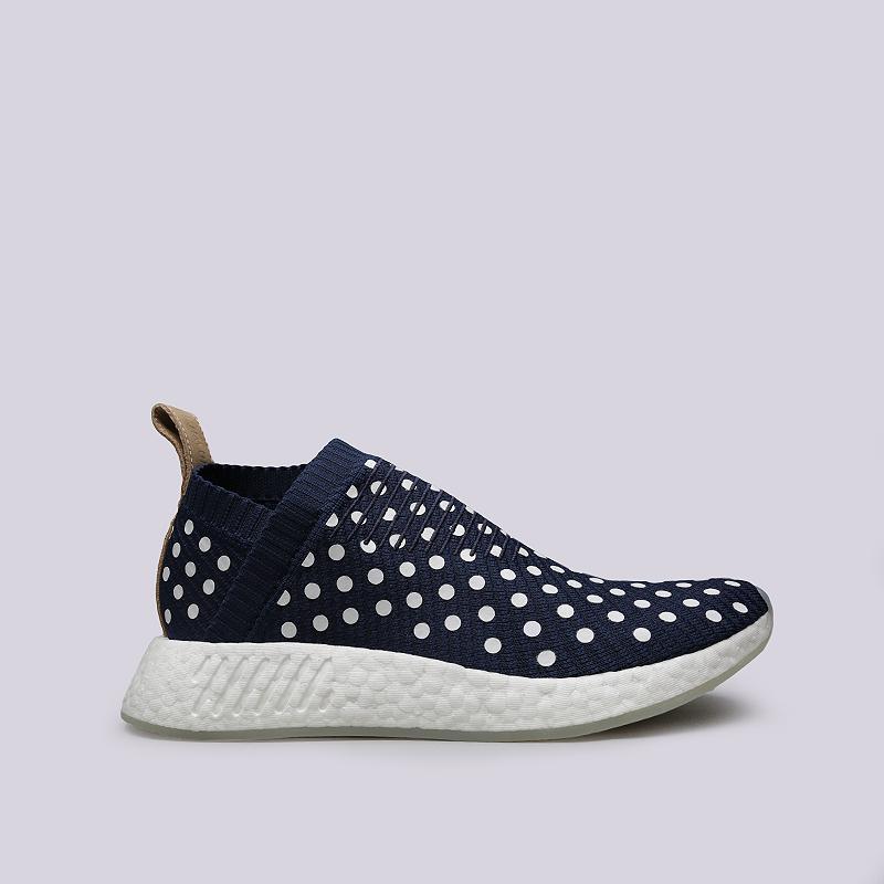 Кроссовки adidas NMD_CS2 PK WКроссовки lifestyle<br>Текстиль, резина<br><br>Цвет: Синий<br>Размеры UK: 6.5;7;7.5;8;8.5<br>Пол: Женский