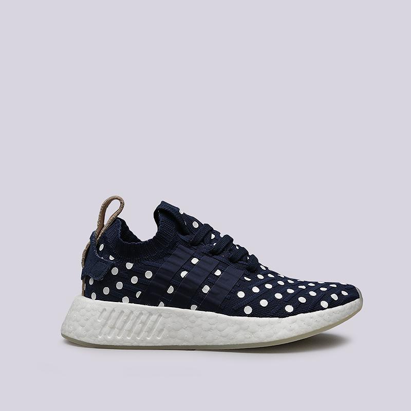 Кроссовки adidas NMD_R2 PK WКроссовки lifestyle<br>Текстиль, резина<br><br>Цвет: Синий<br>Размеры UK: 5;5.5;6;6.5;7;7.5;8;8.5<br>Пол: Женский
