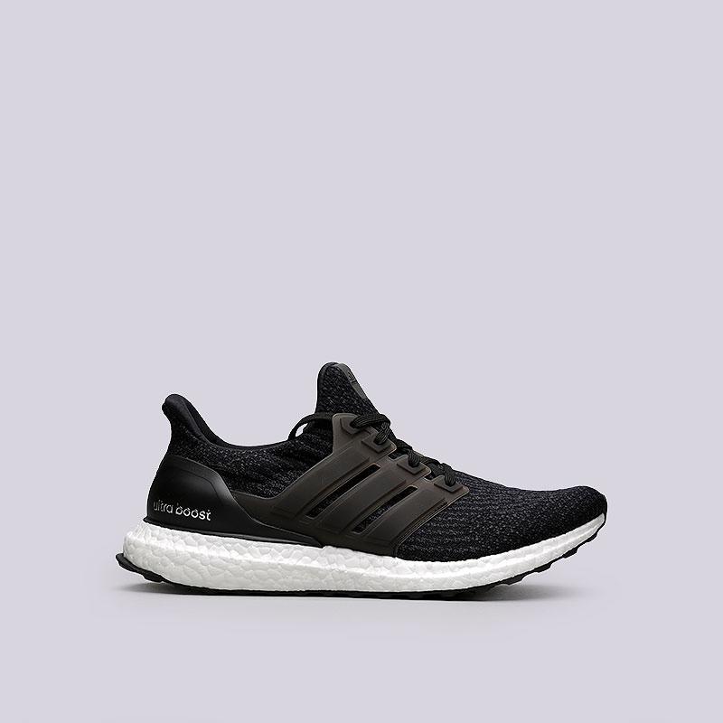Кроссовки adidas Ultra BoostКроссовки lifestyle<br>Текстиль, синтетика, резина<br><br>Цвет: Черный<br>Размеры UK: 7;7.5;8;8.5;9;9.5;10;10.5;11<br>Пол: Мужской