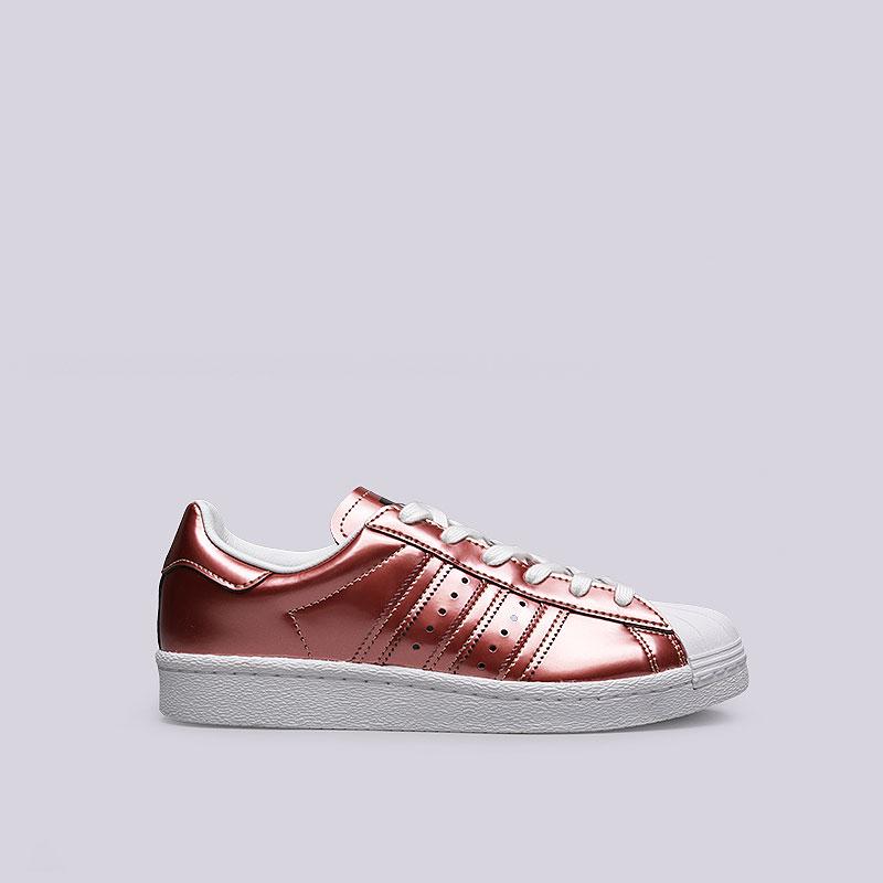 Кроссовки adidas Superstar WКроссовки lifestyle<br>Синтетика, кожа, резина<br><br>Цвет: Бордовый<br>Размеры UK: 5;5.5;6;6.5;7;7.5;8;8.5<br>Пол: Женский