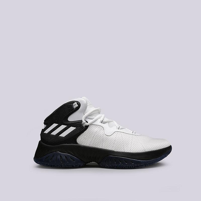 Кроссовки adidas Explosive BounceКроссовки баскетбольные<br>Текстиль, синтетика, резина<br><br>Цвет: Черный, белый<br>Размеры UK: 7;8;8.5;12.5