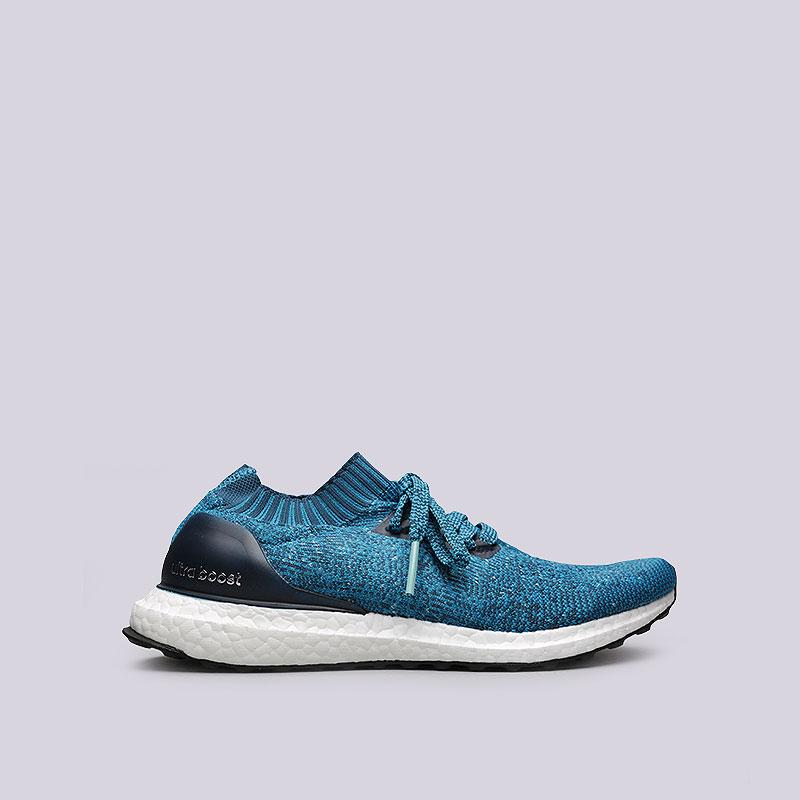 Кроссовки adidas UltraBoost UncagedКроссовки lifestyle<br>Текстиль, синтетика, резина<br><br>Цвет: Синий<br>Размеры UK: 10;7;9<br>Пол: Мужской