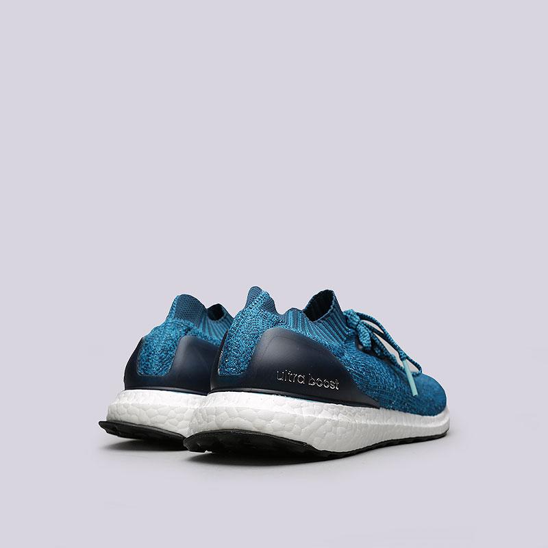 Купить мужские синие  кроссовки adidas ultraboost uncaged в магазинах Streetball изображение - 3 картинки