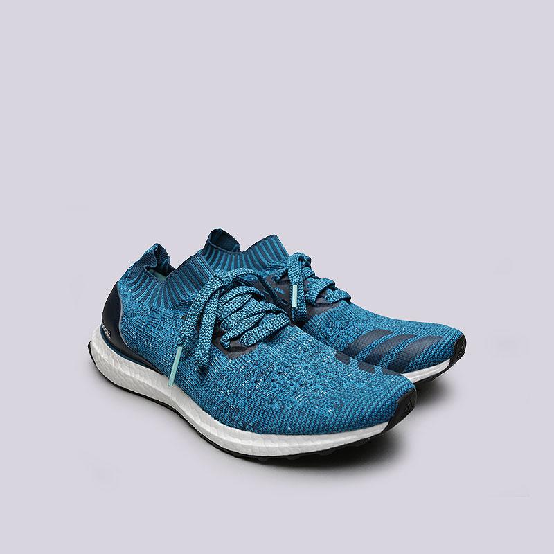 Купить мужские синие  кроссовки adidas ultraboost uncaged в магазинах Streetball изображение - 4 картинки