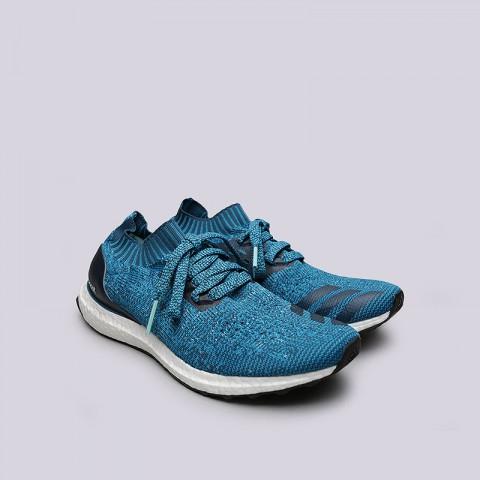 Купить мужские синие  кроссовки adidas ultraboost uncaged в магазинах Streetball - изображение 4 картинки