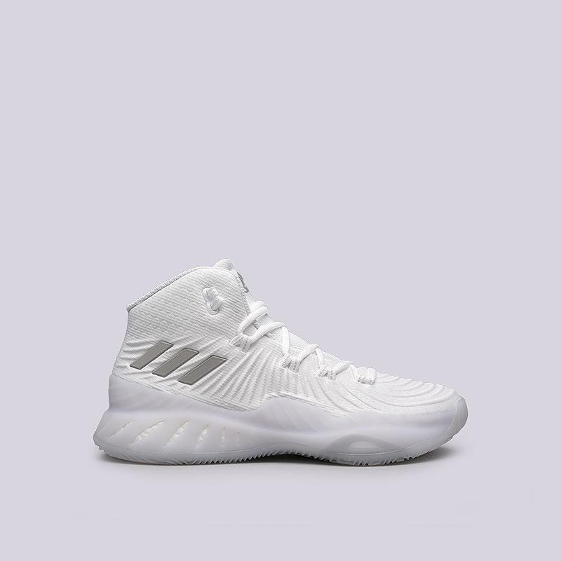 Кроссовки adidas Crazy Explosive 2017Кроссовки баскетбольные<br>Текстиль, синтетика, резина<br><br>Цвет: Белый<br>Размеры UK: 8<br>Пол: Мужской