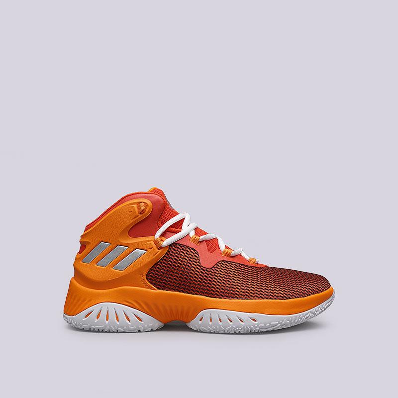 Кроссовки adidas Explosive BounceКроссовки баскетбольные<br>Текстиль, синтетика, резина<br><br>Цвет: Оранжевый<br>Размеры UK: 6.5;7;9;9.5;10;10.5;11;11.5;12.5