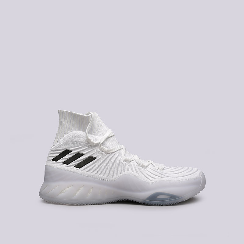 Кроссовки adidas Crazy Explosive 2017 PKКроссовки баскетбольные<br>Текстиль, синтетика, резина<br><br>Цвет: Белый<br>Размеры UK: 7.5;8;8.5;9.5;12<br>Пол: Мужской