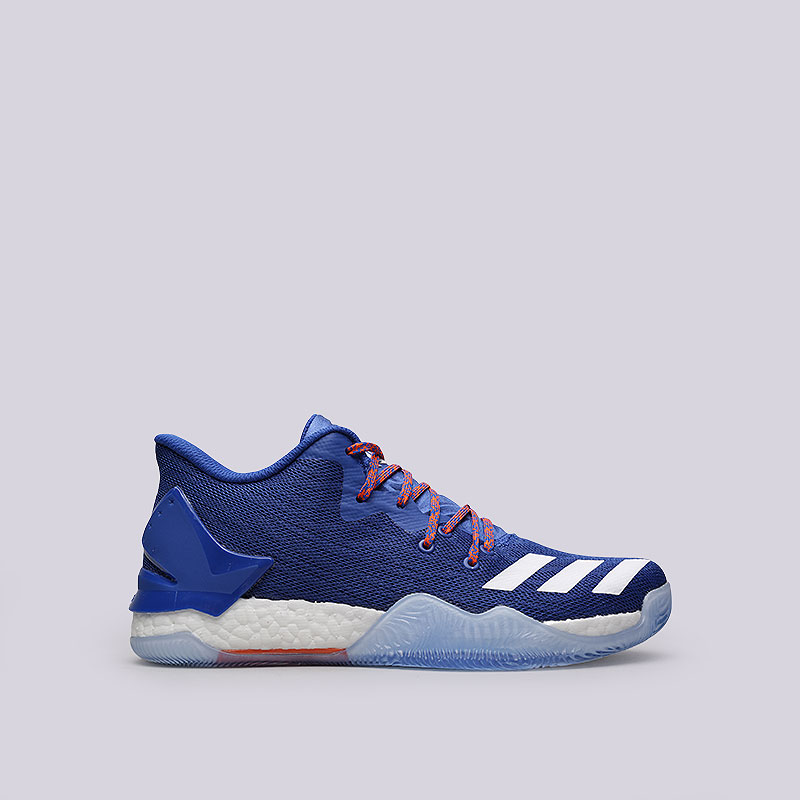 Кроссовки  adidas D Rose 7 LowКроссовки баскетбольные<br>Текстиль, синтетика, резина<br><br>Цвет: Синий<br>Размеры UK: 7;7.5;10<br>Пол: Мужской