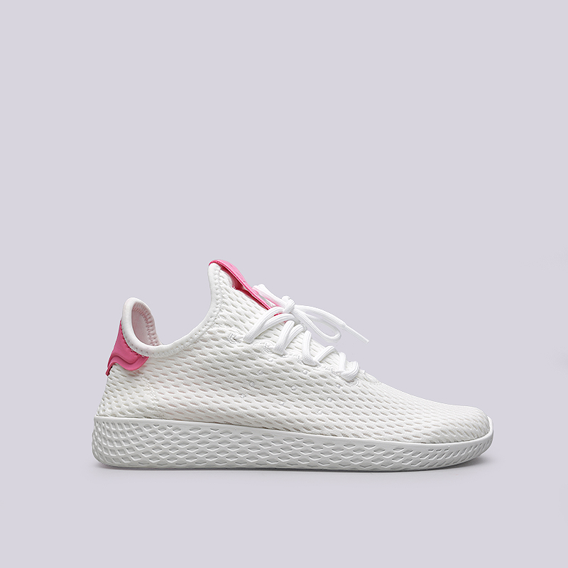 Кроссовки adidas PW Tennis HUКроссовки lifestyle<br>Текстиль, резина<br><br>Цвет: Белый<br>Размеры UK: 4.5;5;5.5;6;6.5;7;7.5;8;8.5