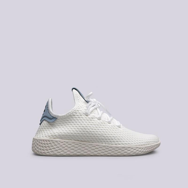 Кроссовки adidas PW Tennis HUКроссовки lifestyle<br>Текстиль, резина<br><br>Цвет: Белый<br>Размеры UK: 5;5.5;6;7;7.5;8;8.5;9;9.5;10;10.5;13;13.5
