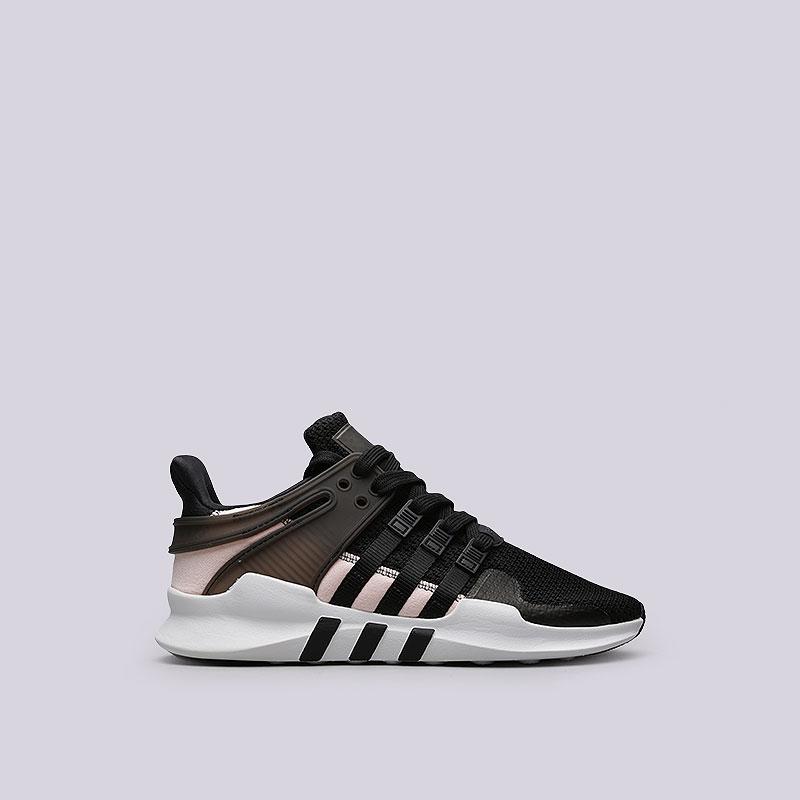 Кроссовки adidas EQT Support ADV WКроссовки lifestyle<br>Текстиль, синтетика, резина<br><br>Цвет: Черный<br>Размеры UK: 5.5;6;6.5;7;7.5;8;8.5<br>Пол: Женский
