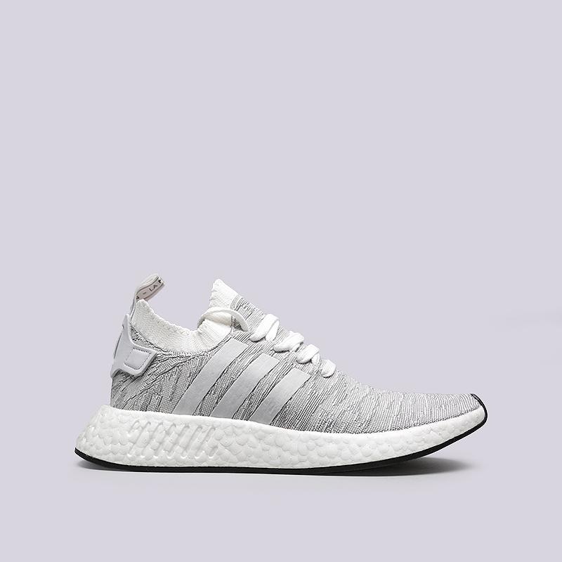 Кроссовки adidas NMD_R2 PKКроссовки lifestyle<br>Текстиль, резина<br><br>Цвет: Синий, белый<br>Размеры UK: 7;7.5;8;8.5;9;9.5;10;10.5;11.5<br>Пол: Мужской