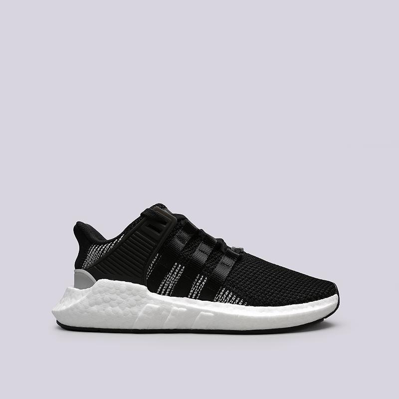 Кроссовки adidas EQT Support 93/17Кроссовки lifestyle<br>Текстиль, резина, пластик<br><br>Цвет: Черный, белый<br>Размеры UK: 7<br>Пол: Мужской