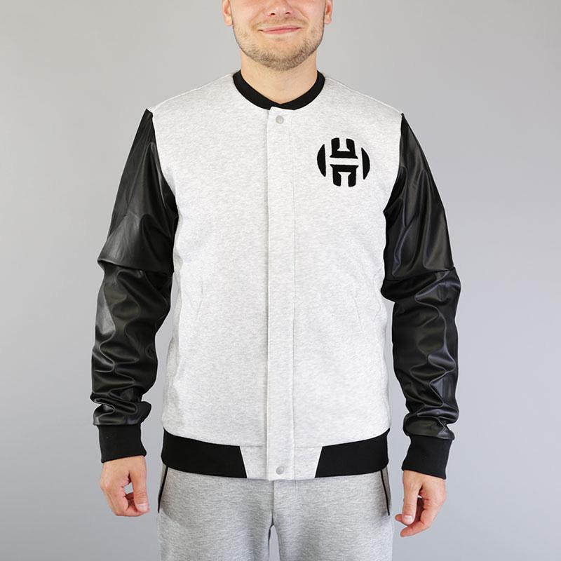 Куртка-бомбер adidas Harden Varsity Jacket