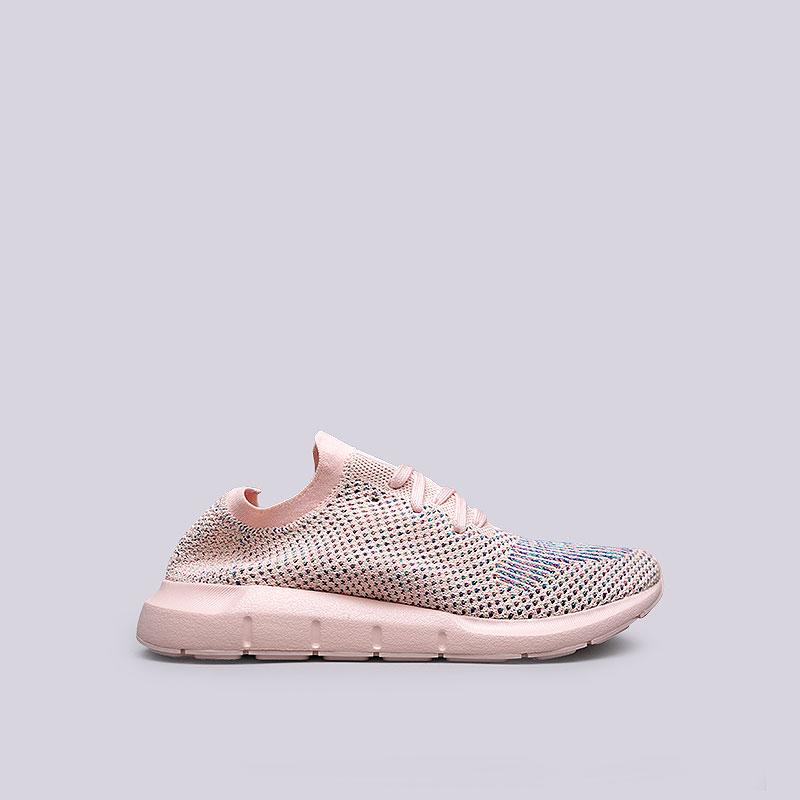 Кроссовки adidas Originals Swift Run PK WКроссовки lifestyle<br>Текстиль, резина<br><br>Цвет: Розовый<br>Размеры UK: 5;5.5;6;6.5;7;7.5;8<br>Пол: Женский
