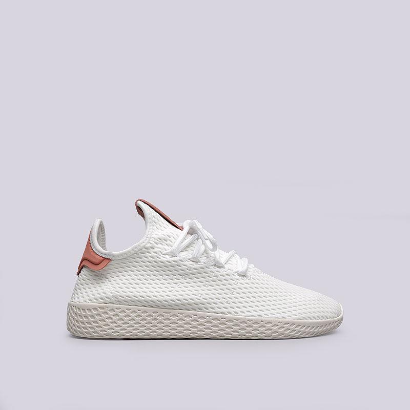 Кроссовки adidas PW Tennis HUКроссовки lifestyle<br>Текстиль, резина<br><br>Цвет: Белый<br>Размеры UK: 7;8;8.5;9;9.5;10;10.5;11.5<br>Пол: Мужской