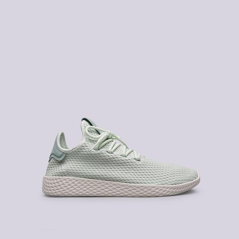Кроссовки adidas PW Tennis HUКроссовки lifestyle<br>Текстиль, резина<br><br>Цвет: Мятный<br>Размеры UK: 5;5.5;6;6.5;7;7.5;8;8.5;9;9.5;10;10.5;11;11.5