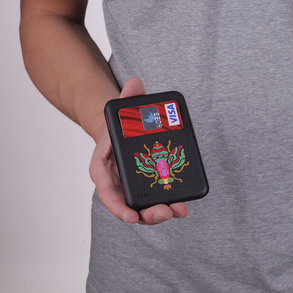 Бумажник Dosh Magic - ArtistДругое<br><br><br>Цвет: черный<br>Размеры : 1SIZE