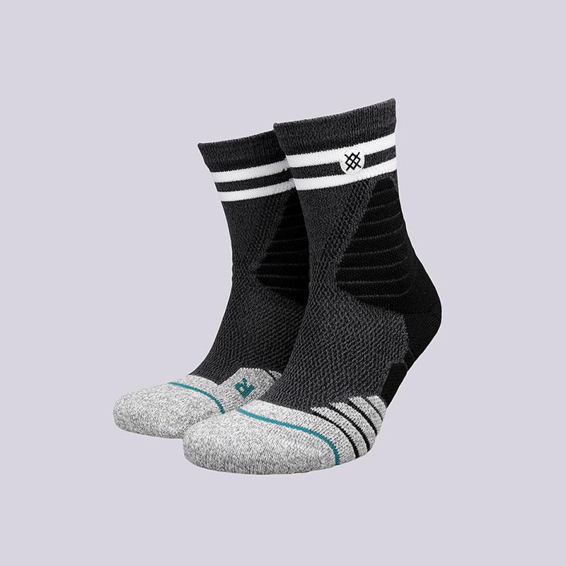 мужские черные  носки stance game time M359A17GAM- BLACK - цена, описание, фото 1
