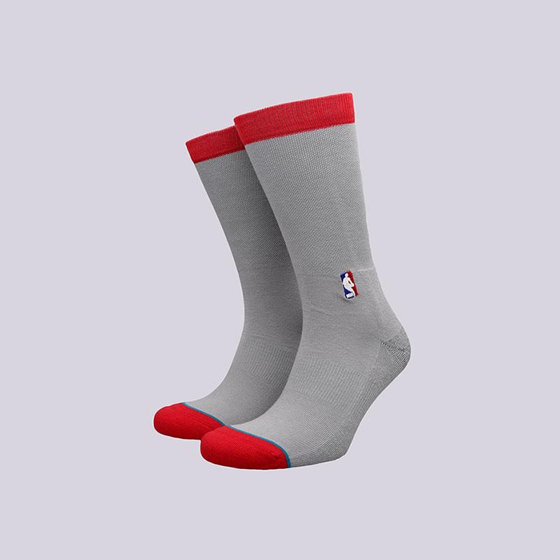 Носки Stance Rockets Arena LogoНоски<br>Хлопок, эластан, нейлон<br><br>Цвет: Серый<br>Размеры : L<br>Пол: Мужской