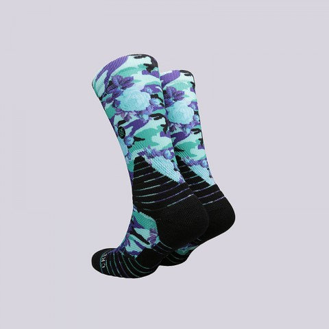 мужские черные  носки stance outlet M559A17OUT- BLACK - цена, описание, фото 2