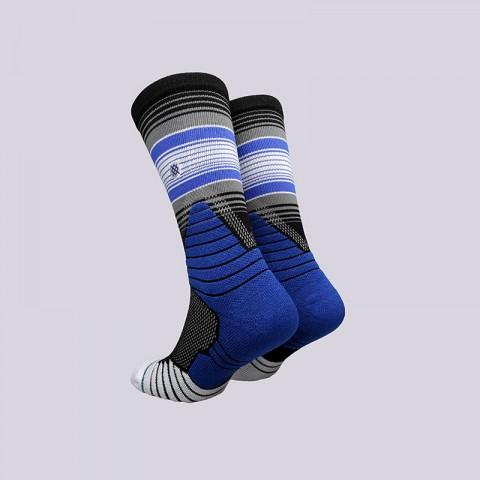 мужские синие  носки stance three point M559A17THR- BLACK - цена, описание, фото 2