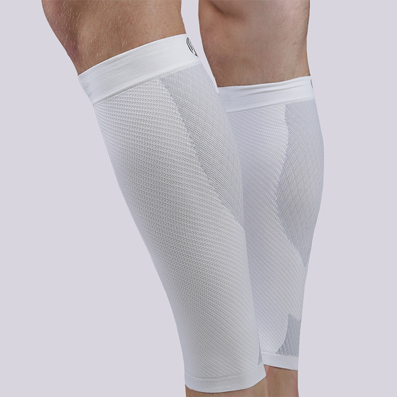 белый  фиксатор голени os1st performance calf sleeve OS1-4234WHITE - цена, описание, фото 1