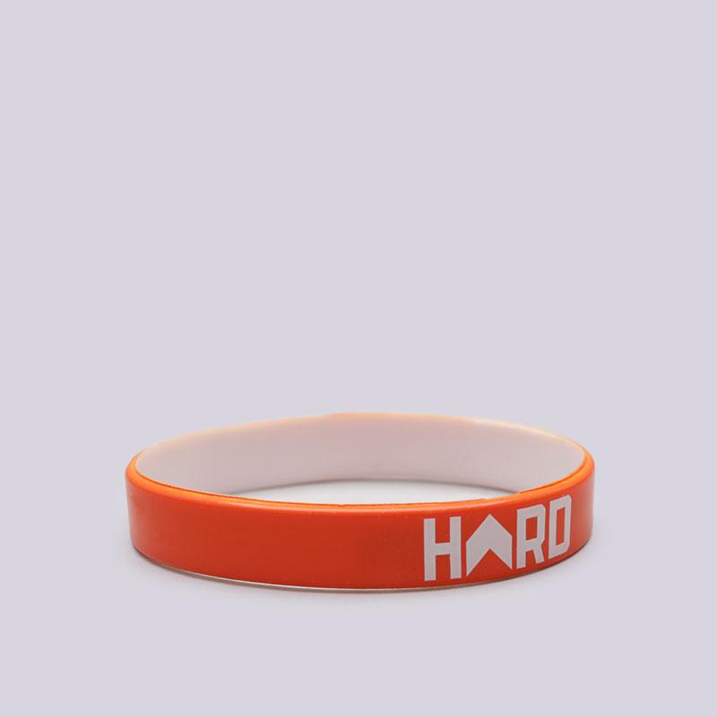 Браслет Hard Мяч Не ВрётДругое<br>Резина<br><br>Цвет: Оранжевый<br>Размеры : OS
