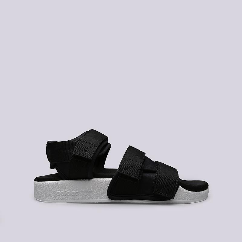 Сандали adidas Originals Adilette Sandal WСланцы, балетки<br>Текстиль, резина<br><br>Цвет: Черный, белый<br>Размеры UK: 5;6;7<br>Пол: Женский