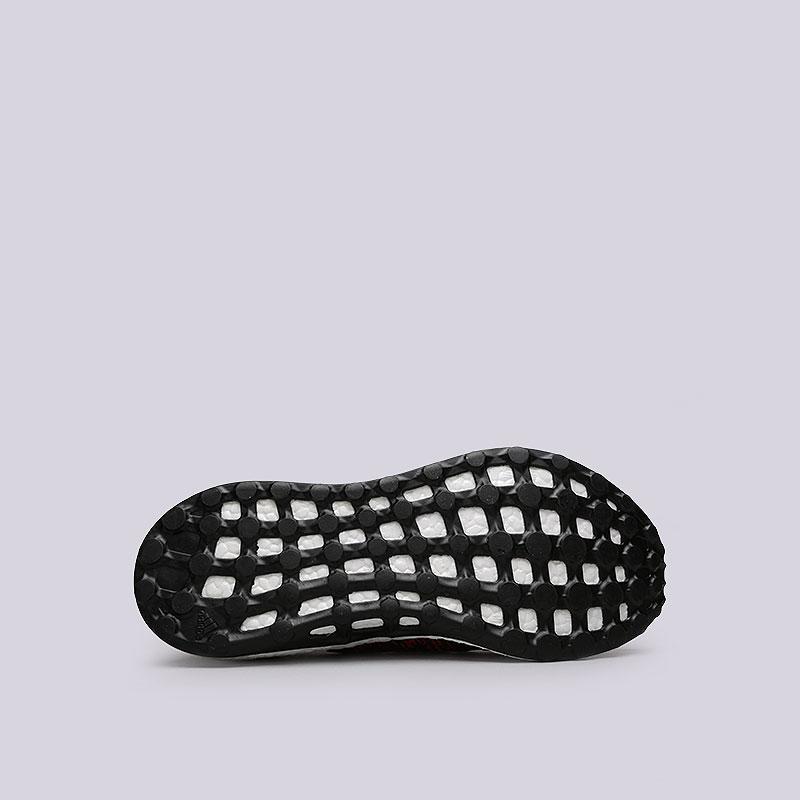 Купить мужские красные  кроссовки adidas pureboost в магазинах Streetball изображение - 2 картинки